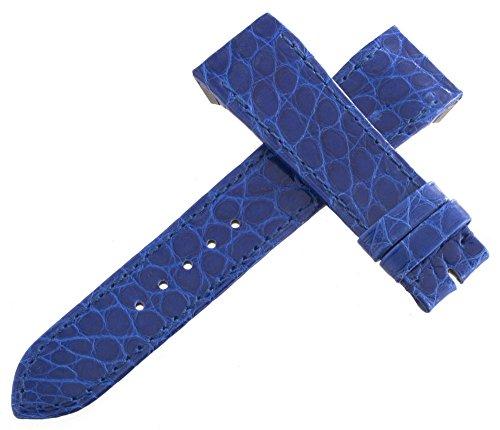Jaeger LeCoultre Reverso Uhrenarmband Alligator blau 19mm x 16mm