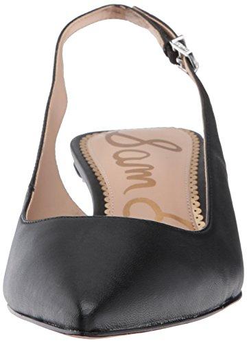 Sam Edelman Ludlow, Scarpe con Cinturino alla Caviglia Donna Nero (Black Leather)