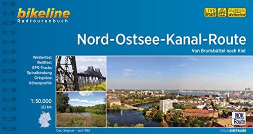 Nord-Ostsee Kanal-route von Brunsbuettel nach Kiel 2018