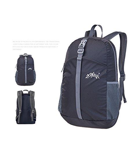 Imagen de aonijie 20l al aire libre ultraligero impermeable plegable  viaje mountaineer senderismo bolsa, negro alternativa