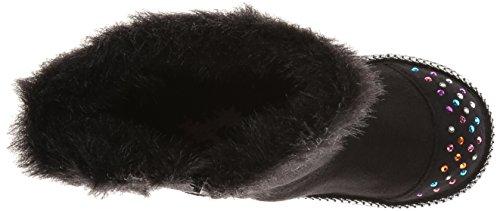 Skechers Keepsakesfufu Baby, Bottes et bottines à doublure chaude fille Noir - Noir