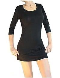 Muse Damen 3/4- Arm Bluse / Hemd- Kleid