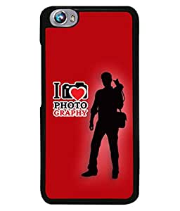 Micromax Canvas Fire 4 A107 Back Cover I Love Photography Design From FUSON