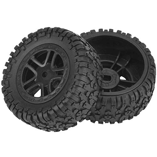 Modello Car Tire, parti di aggiornamento della gomma della ruota del pneumatico del camion di 2pcs RC per l'automobile di modello ad alta velocità di serie 9301 di 1/18