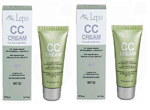 lepo-cc-cream-2-confezioni-da-30-ml-n1-natural-beige-idrata-protegge-dagli-uv-e-copre-le-imperfezion