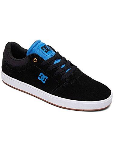 DC CRISIS Herren Skateboardschuhe BLACK/BLACK/BLUE