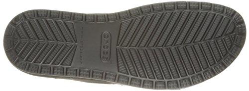 Crocs 203002, Ciabatte Donna Nero (Black/Graphite)