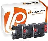 Bubprint 3 Schriftbänder kompatibel für Dymo TE-45017 TE 45017 PT 1010 1000 P700 2500PC 2700VP 2470