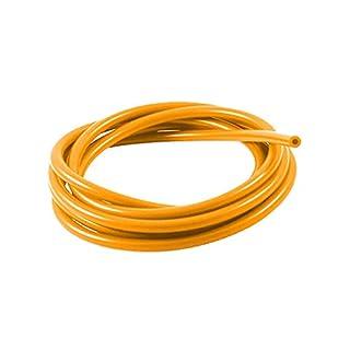 8mm ID Orange 22 Metre Length Silicone Vacuum Hose - AutoSiliconeHoses