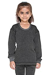 Vimal Winter Cover Blended Black Thermal Top For Girls