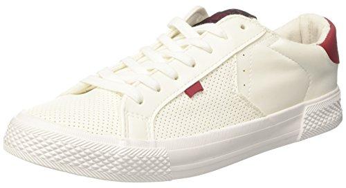 Carrera Platinum LTH, Zapatillas para Hombre, Bianco (White/Red), 41 EU