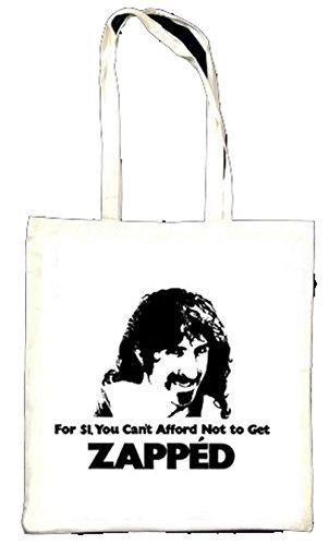 Frank Zappa dépouillée Totebag