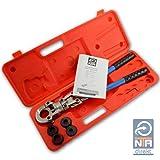 Presszange G-Kontur Rohrpresszange mit 16-20-26-32 Pressbacken f. Verbundrohr