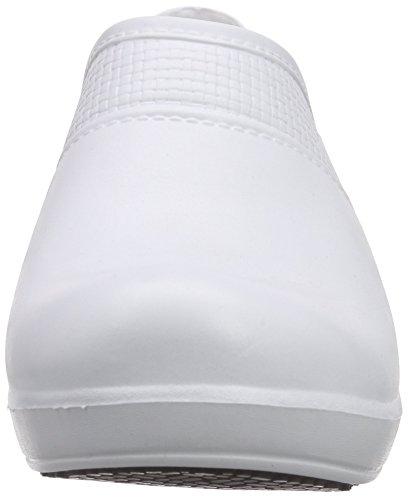 Sanita Aero-Motion, Zoccoli Donna Bianco (Weiß (White 1))