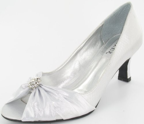 lexus-z102-layla-ladies-wdie-fitting-shoes-with-small-diamante-trim5-silver