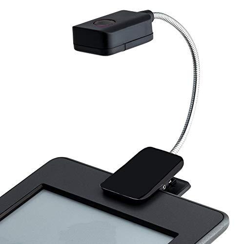 PUAK523 Luz LED Clip-on, Super Brillante Libro Lectura Luz con Cuello de Goseno...