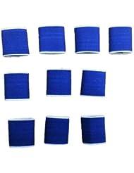 Generic dyhp-a10-code-4111-class-1-- Funda banda de dedo apoyo puerto 10pcs voleibol e Elast baloncesto azul marino Bask azul elástico volleyb–-dyhp-uk10–160819–1928
