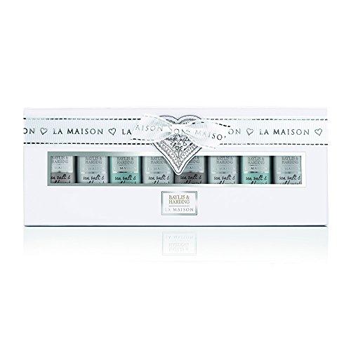 Baylis & Harding PLC Cadeau For Her la Maison Sea Salt & Menthe Sauvage Bouteilles Miniatures Collection Coffret Cadeau