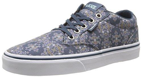 Vans - W Winston Geo Flowers, Sneakers da donna Verde (Geo Flowers/Orion Blue)