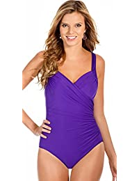 Miraclesuit Sanibel Swimsuit, Shaping Slimming Swimming Costume Sizes 12 to 20