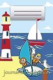 journal de navigation: Naviguer avec des enfants * Mon premier carnet de bord...