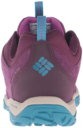 Columbia Fire Venture Low Waterproof, Scarpe Sportive Outdoor Donna Viola (Purple Dahlia, Intense Violet 562Purple Dahlia, Intense Violet 562)
