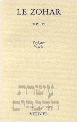 Le Zohar, tome 4