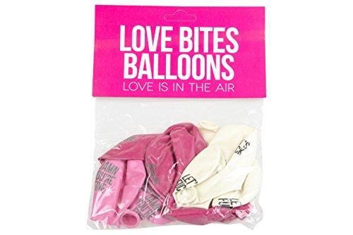 Preisvergleich Produktbild Love Bites Luftballons, unanständige Sprüche, 25,4cm, 12Stück