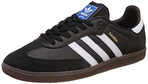 adidas Herren Samba OG Niedrig, Schwarz (Core Black/Footwear White/Gum), 42 EU