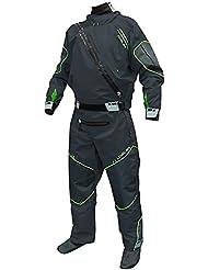 Level Six Triton Drysuit traje seco Kayak traje de kayak traje de buceo color verde/lime