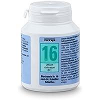 Schuessler Salz Nr. 16 Lithium chloratum D12 400 Tabletten Biochemie Orthim