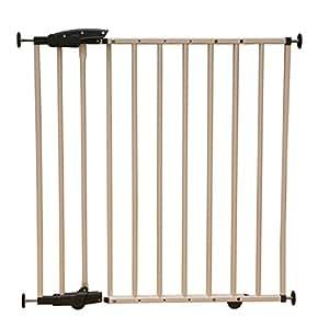 Barrière de sécurité Elia 71,5cm-106cm, en métal, blanche