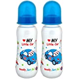 Mee Mee Premium Baby Feeding Bottle, 250ml, Blue (Pack Of 2)