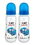 #10: Mee Mee Premium Baby Feeding Bottle (Pack of 2 - 250 ml, Blue)