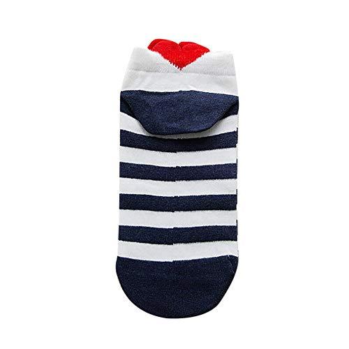 NPRADLA 2018 Damen Socken beiläufige Arbeit Herz-förmige Baumwoll Mode Socke bequem -