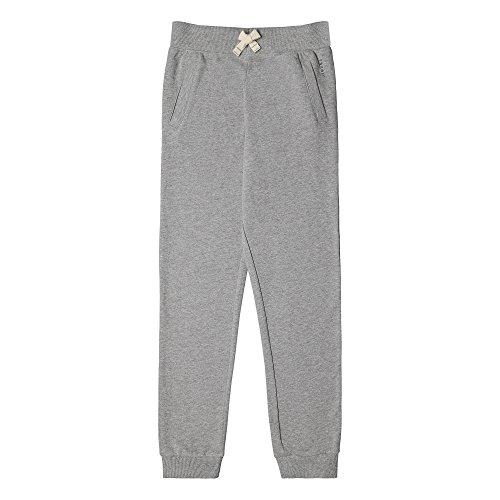 ESPRIT Kids Jungen Jeans Knit Pants Ess, Grau (Dark Heather Grey 201), 134 (Herstellergröße: XS)