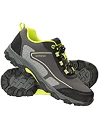 Mountain Warehouse Zapatillas Softshell para niños - Zapatillas Resistentes, Zapatillas de montaña con Empeine Transpirable, Zapatillas con Forro de Malla para niños
