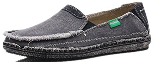 Punk family Herren Segeltuch-beiläufige britische alte Peking-Schuhe