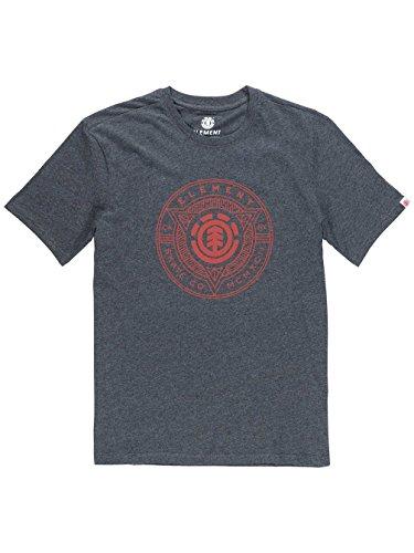 Element Etch T-Shirt charcoal heathe