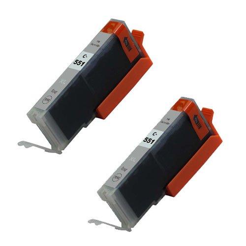 2Grau XL Tintenpatronen Kein OEM kompatibel für Canon Pixma iP8750MG5550MG6350MG6450MG7150MG7550MX925Drucker C550/1Photo schwarz Cyan Magenta gelb grau - Xl Grau Core