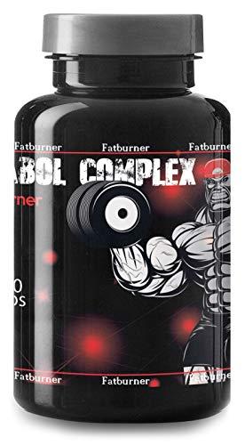 Anabol Complex Fatburner By VargPower | 100 Kapseln | Appetithemmer | Neuster Fat Burner Fettverbrenner Diät | Unterstützt Stoffwechsel Thermogenese | Hochdosiert