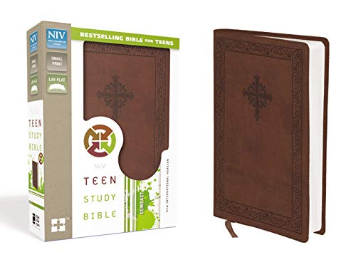 NIV Teen Study Bible: New International Version, Sienna, Italian Duo-Tone