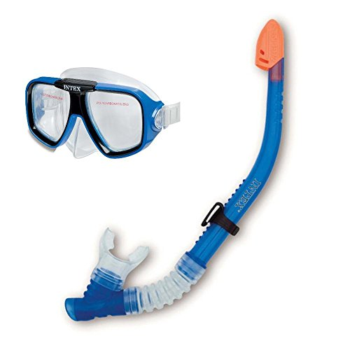 Intex Tauchset Rifftaucher ab 8 Jahre Taucherbrille Schnorchel