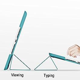 JETech Custodia iPad (9,7 Pollici, 2018/2017 Modello, 6/5 Generazione), Cover con Auto Svegliati/Sonno, Blu