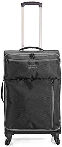 Benzi - Juego de maletas BZ5187 (Negro/Gris)