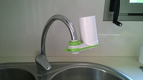 Prozone On Tap Filtro De Agua Para Grifo Purificador de Agua 3 Etapes de Filtracion