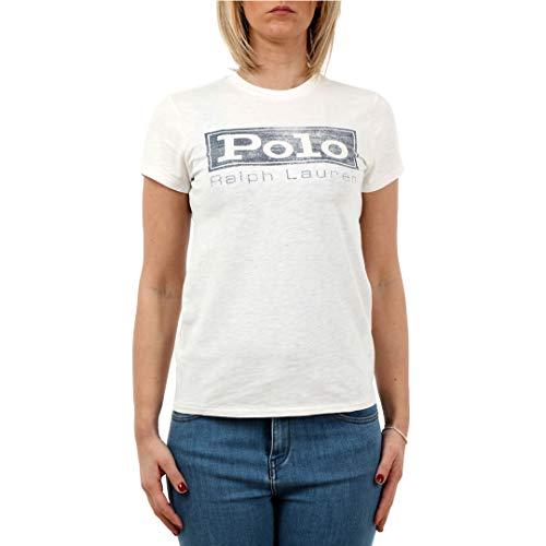 Polo Ralph Lauren Maglietta in Jersey Con Grafica Donna Mod. 211718198 S