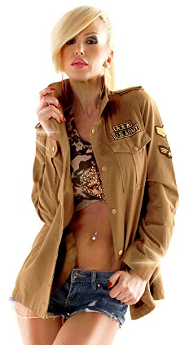 f4y k.Zell - Exclusive U.S. Army Cargojacke - Sand - Size 38-40 - Vintage-Style