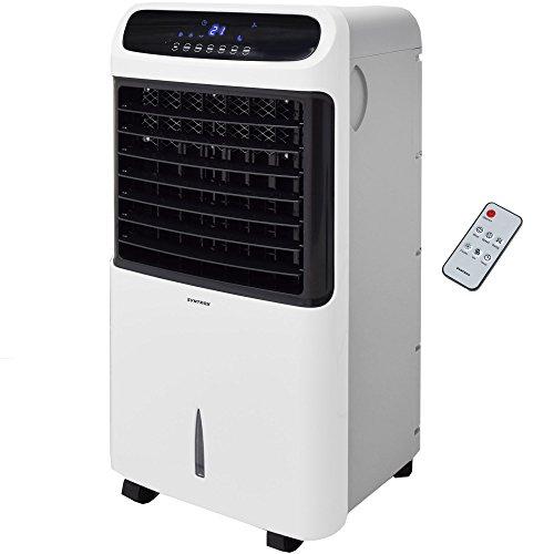 Syntrox Germany 4en 1Rafraichisseur d'air humidificateur Désodorisant et ventilateur avec Touch Panel et télécommande de débit d'air 1200M³/H AC 80W 12L Vent