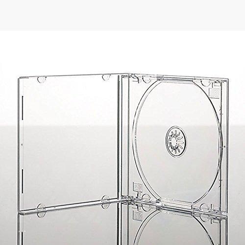 50 x Premium Grade 1 CD Jewel Cases (10 mm) transparent